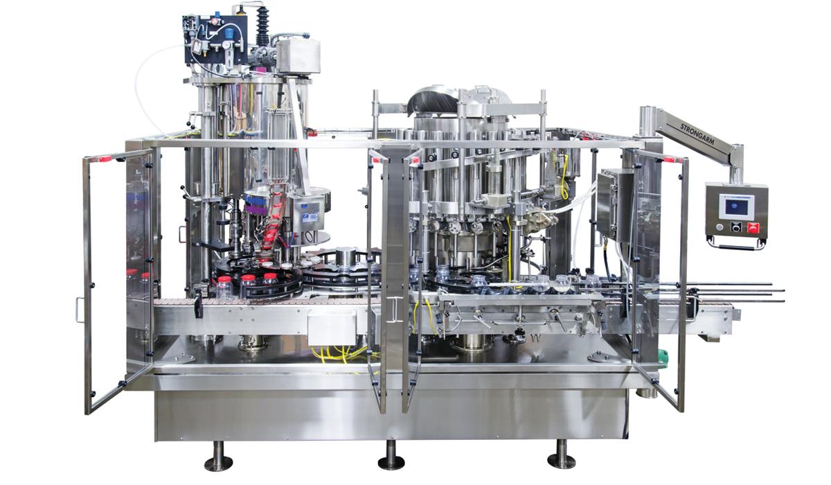 Elmar® Monoblock Filller for Plastic, Glass, Metal Containers